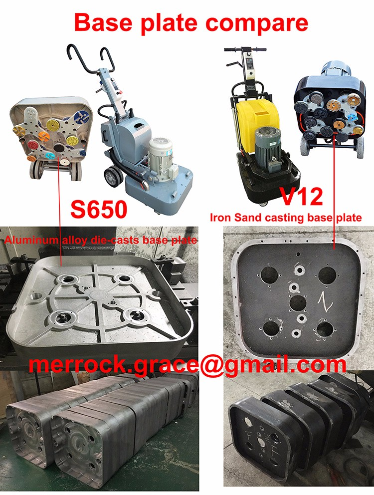 2017 New 12 Heads XY-Q8 Concrete Grinder Floor Grinding Machine