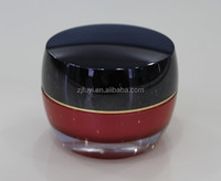 15g 30g 50g Drum-shaped plastic acrylic cosmetic packing, empty face cream jars