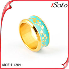 Simple gold ring designs cheap gold plated new design finger ring