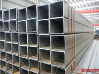 alibaba website Hot Dipped Galvanized Square tube100*100*12mm