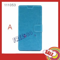 high quality flip pu leather case for bubugao y33 with many different colors