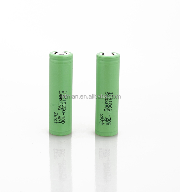 Wholesale samsung lithium ion battery cell 18650 samsung 18650 3000mah samsung 18650 30B battery