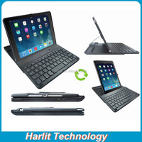 360 Swivel Case Bluetooth Keyboard For iPad Air 2 Anti Bump Bluetooth Keyboard With Rotating Case For iPad Air 2