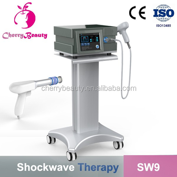 Perfect effect SW9 electric stimulation shock wave therapy equipment for body pain removal shockwave shock wave
