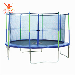 Outdoor blue biggest 15ft trampoline tent