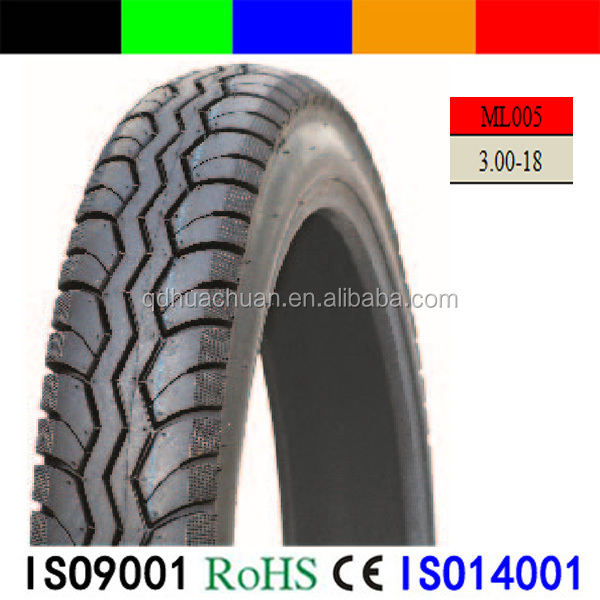3.00-18 TT/TL Street Motorcycle Parts High Quality Motorcycle Tyre