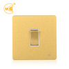 Antique brass 10a 250v electric wall light switch