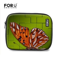 Beautiful butterfly 10 inch neoprene laptop sleeve Wholesale