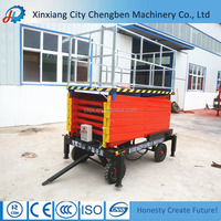 Bigger Platform Vertical Raising Industrial Working Platform