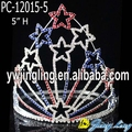 Patriotic star pageant crowns