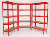 5 shelf Quick Assembly garage Shelving and racking unit