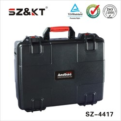IP67 waterproof truck tool box plastic shipping case with handle