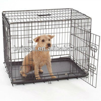 Double Doors Colored Metal Pet Crate/Dog Cage