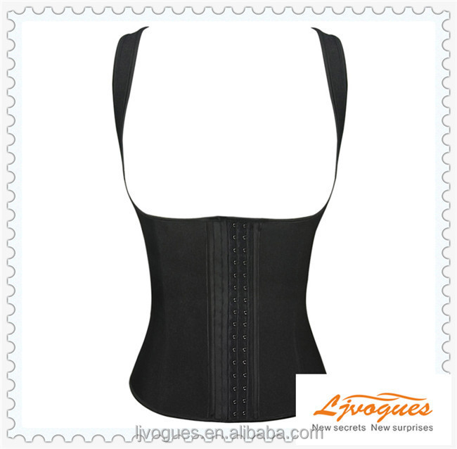 sexy hot women girdle, Sexy Latex slimming underbust fat burning waist Cincher corsets Wholesale