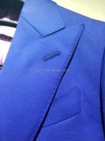 African dress pure wool trailored bespoke blazer men suit