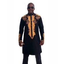 X85880A latest new model african shirts for men caasual blouse shirt designs