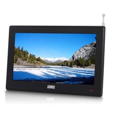Wholesale Chinese Portable DA100D TV with Freeview HD Video TV -full color Small Screen LCD Television
