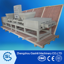 Automatic 3 heads wood Sawdust Pallet Block Making Machine