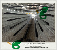 low carbon steel wire layer quail layer cages with Auto water system