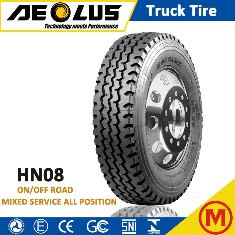 AEOLUS Windpower HN08 On Off Road TBR BUS Tyre 10R20 12R20 10.00R20 Radial Truck Tires