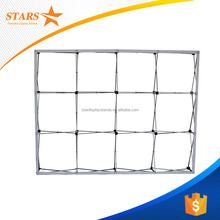Velcro Pop Up Display Stands , Tension Fabric Photo Booth Backdrop
