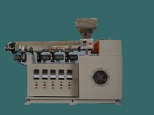 plastic single screw extruder machine