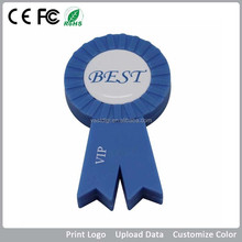 Award Ribbon USB Flash Drive/ pen drive / usb stickas personalized gifts