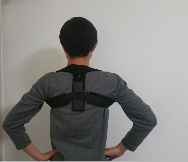 FDA Certificate Upper Back Posture Corrector Braces For Clavicle Support Fractures, Sprains