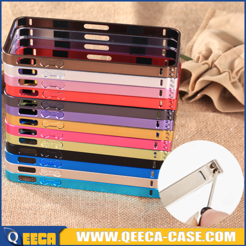 Ultra-thin 0.7mm aluminum frame/ screw metal bumper case for iphone 5