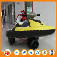 Free shipping inflatable mini rubber motor boat