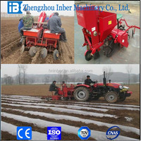 Hot sale 2 rows potato seeder /planter for Indian market