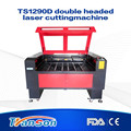 Transon laser cutting machines for sale with two laser heads TS1290D