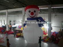 indoor and outdoor giant inflatable snowman / large inflatable snowman decoration