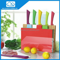 5 Pcs Colorful Non-Stick Coating Knife set