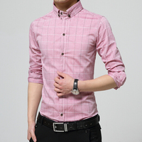 custom poplular latest formal designs fashion long sleeve cotton t shirt wholesale for men