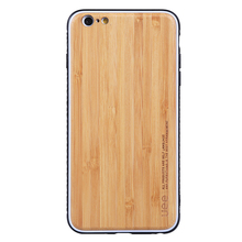 Bamboo Cell Phone Case for iPhone 6 UEE High Quality Wooden Cell Phone Case