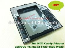 New 2nd HDD/SSD Caddy/caseenclosure for LENOVO Laptop series