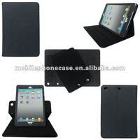 PU tablet case for iPad mini 360 degree roating case
