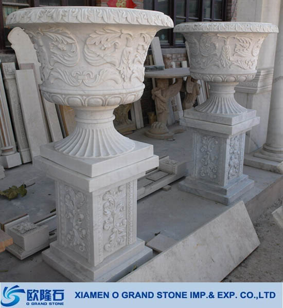 Wholesale antique large chinese stone garden pots