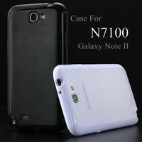low price china mobile phone case plastic tpu case for galaxy note2 n7100