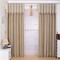 China supplier blackout embossed outdoor patio drapes curtains