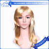 cheap long straight wigs , blonde hair bun wig , drag lace wig