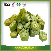 Nutritional ingredients Freeze Dried Okra fd vegetables