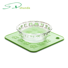 New Product Silicone Rubber Heat Protection Table Mat For Bowl