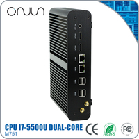 free shipping smallest window indoor desktop i7 mini fanless pc