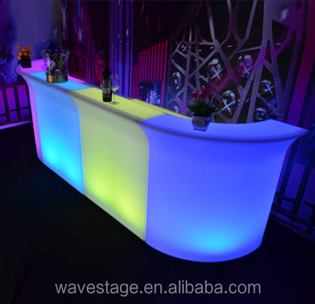China factory led bar cocktail furniture led bar counter for outdoor/garden