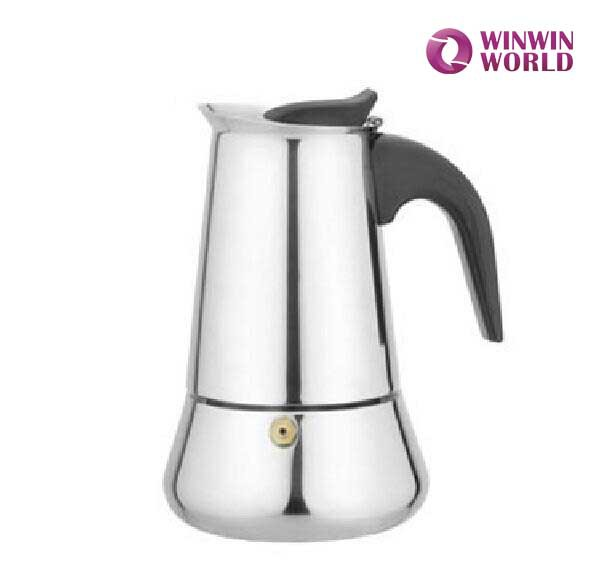 Professional Coffee Portable Personalized Stainless Steel Moka Pot