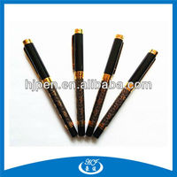 Black High Quality Chinese Fancy Metal Fountain Pen Ink