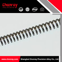 Stable quality high temperature furnace continuous spiral heating element