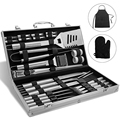 Heavy Duty Grill Set with Aluminum Storage Case